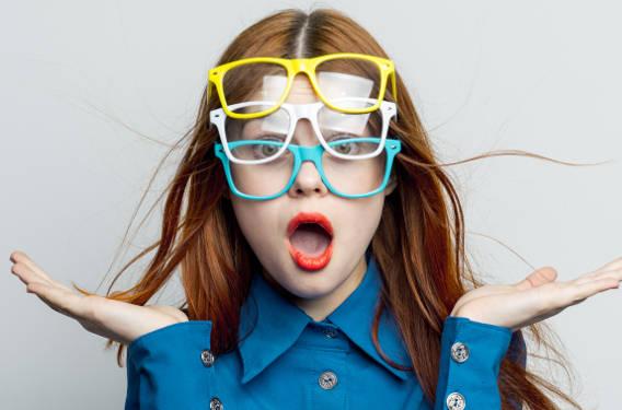 Värvivalik prilliraamide valikul