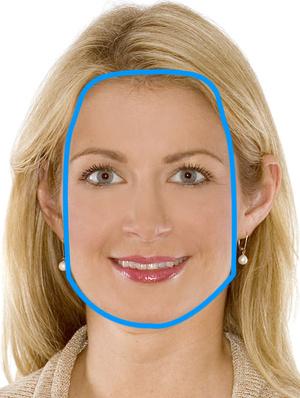 Trapetsikujuline nägu